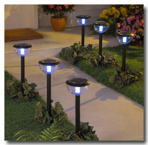Outdoor Solar Garden Lights Photograph Types Of Outdoor So